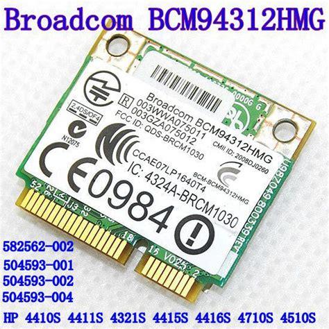 Broadcom Bcm94312hmg broadcom bcm94312hmg driver xp haloerogon