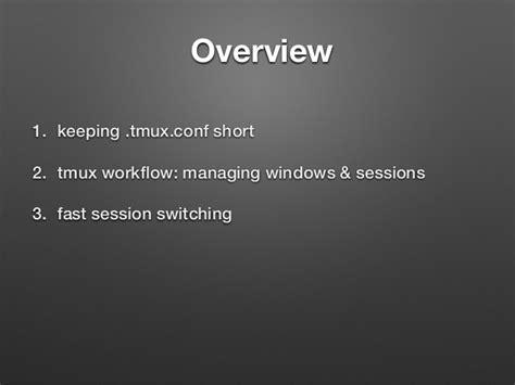 tmux layout names tmux tips and tricks