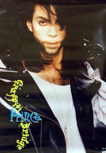 prince graffiti bridge poster uk promo poster