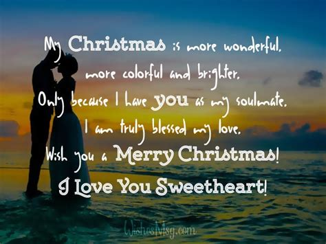 christmas wishes  girlfriend romantic christmas messages wishesmsg