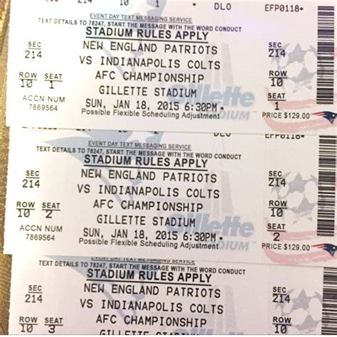 go fan high tickets new england patriots warn fans about counterfeit tickets