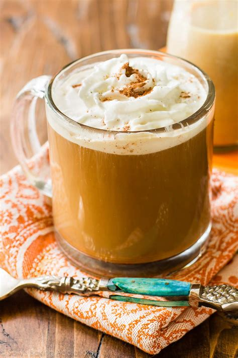 pumpkin spice for coffee homemade pumpkin coffee creamer sallys baking addiction