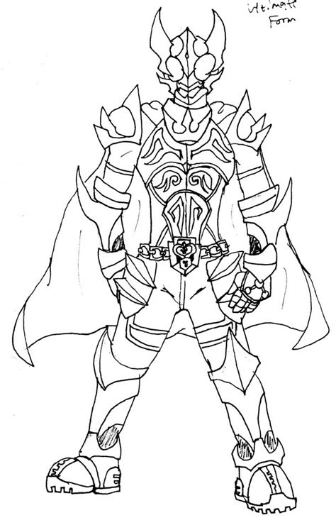 free kamen riders coloring pages