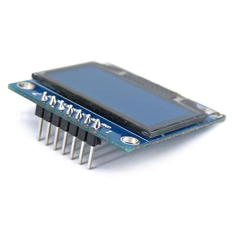 Oled Module 2 Colors White And Blue sh1106 oled display module for arduino blue black
