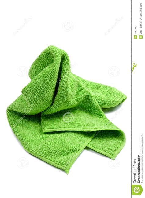 Green Cleaning Rag Stock Photos   Image: 23579173