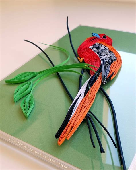 Handmade Paper Birds - 72 best images about quilling birds on folk
