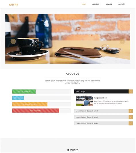 bootstrap themes free one page anyar free multipurpose one page bootstrap theme