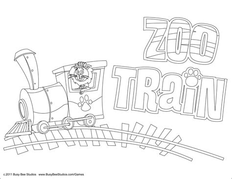 animal train coloring page zoo counting and coloring pages