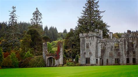 armadale castle romantischer garten auf