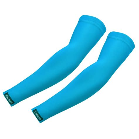 cooling arm sleeves cover uv sun protection golf bike