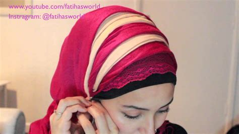 different styles with 2 scarves hijabiworld