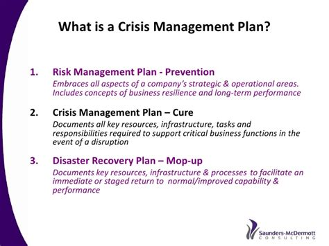 what is a one best practice crisis and issues management a recommended