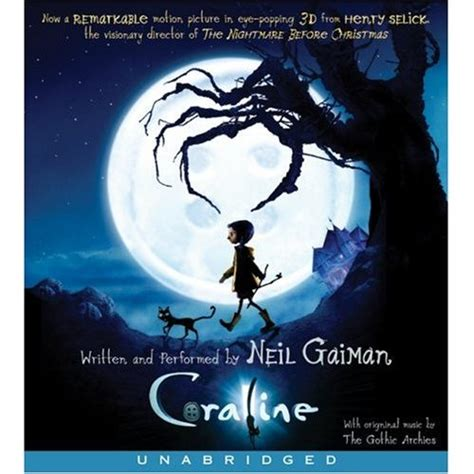 the neil gaiman audio coraline by neil gaiman audio book reviews books for ears