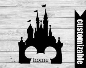 disney castle home iron on transfer printable digital iron