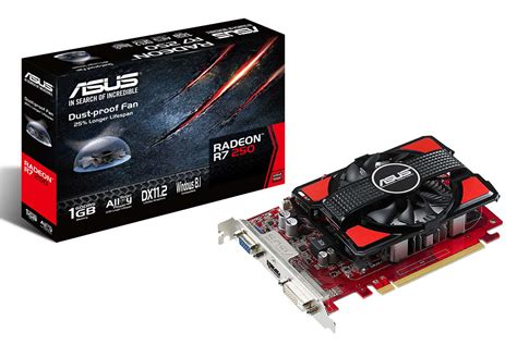 Vga Card Untuk Laptop Asus jual vga asus r7 250 1gb ddr5 128 bit radeon central pc