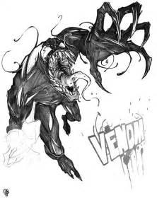 venom sketch by johnphillipperez on deviantart