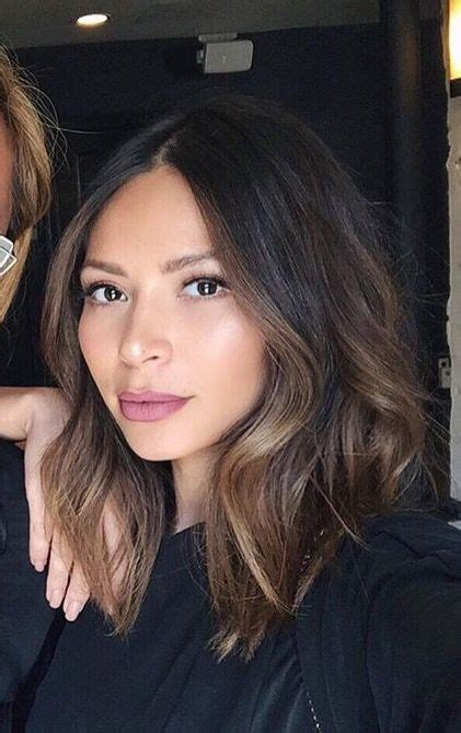image result for blunt bangs and balayage coiffure coiffures m 232 ches et beaut 233 image result for front highlights hair nouvelle coiffure cabello bob balayage cabello