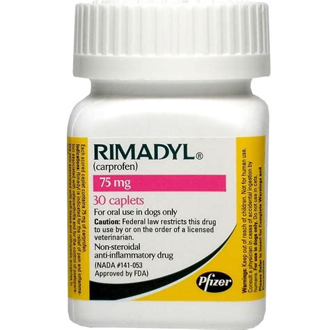 rimadyl 75 mg for dogs rimadyl 75mg 30 caplets