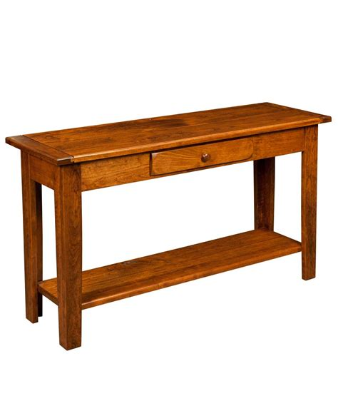 Amish Direct Furniture by Homestead Sofa Table Amish Direct Furniture