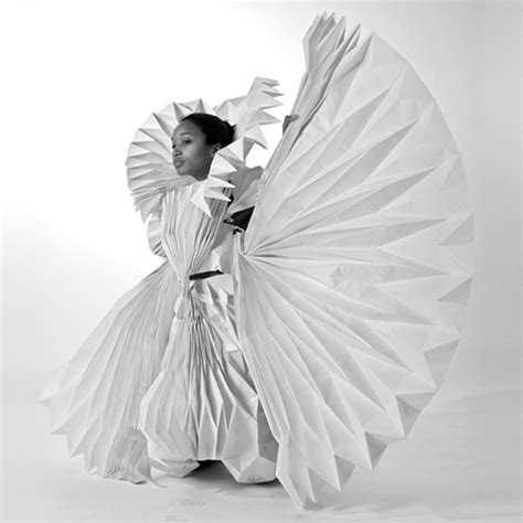 design clothes paper carnival costumes made from folded paper strictlypaper