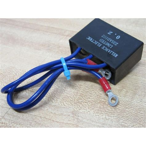 reliance electric resistor reliance electric 23sad102 varistor 23sad102 used mara industrial