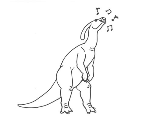 parasaurolophus coloring by weirda208 on deviantart