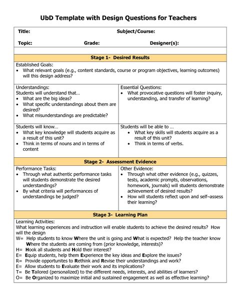 lesson plan templates for piano teachers creative music education