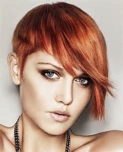 edgy haircuts with side bangs red edgy short hairstyles with side bangs for women hair