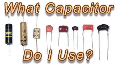 how are capacitors used which capacitor do i use tech tips tuesday