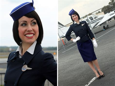 How To Make A Flight Attendant Hat Out Of Paper - 1963 pan am inspired stewardess hat sewing projects