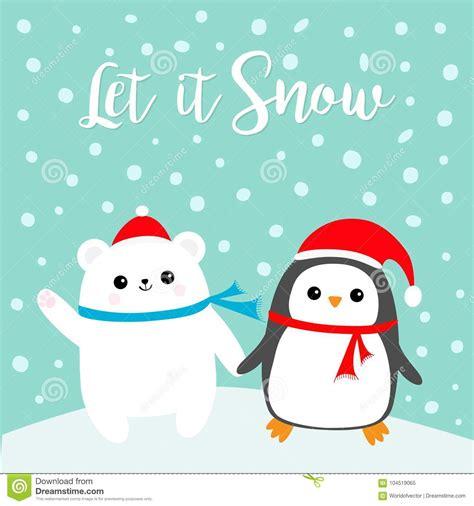 dibujos f 225 ciles de santa claus imagenes de santa claus cute christmas penguin vector illustration cartoondealer