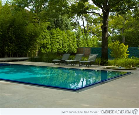 Garden Pools The Inspiring Dallas House In The Garden In Usa