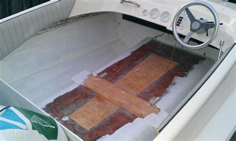 bass boat no carpet removing boat carpet and gel coating the interior page