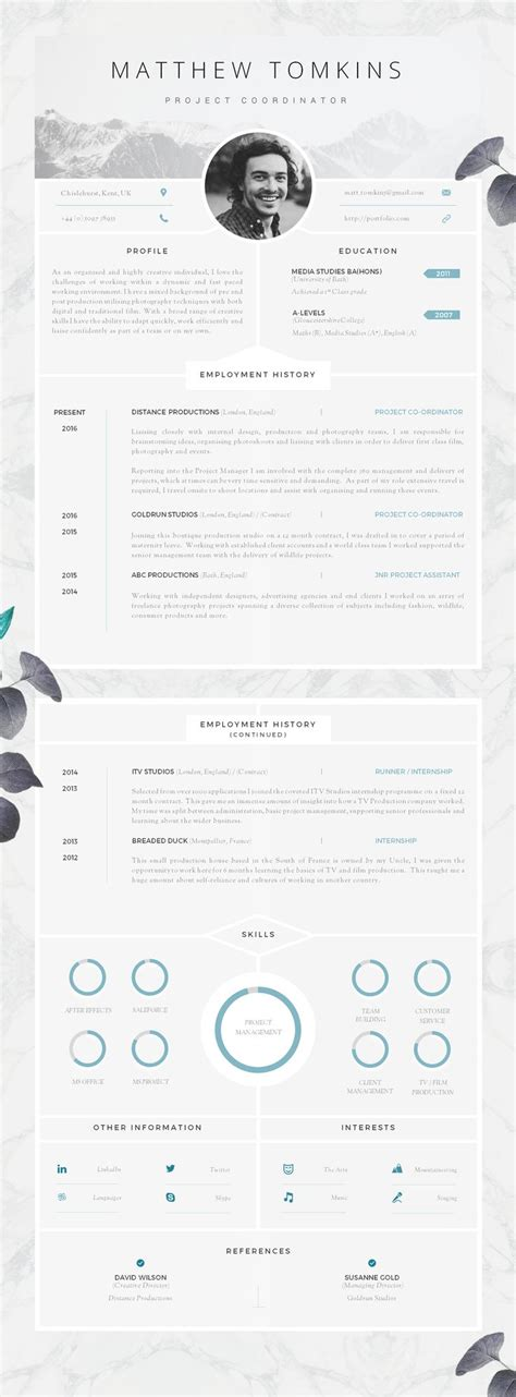 Resume 6 Second Rule by Best 25 Cv Templates Word Ideas On Resume Cv