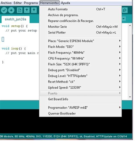 arduino qt tutorial m 243 dulo esp8266 programado con ide arduino hetpro tutoriales