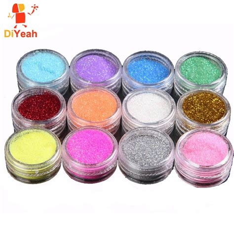shimmer glitter tattoos aliexpress buy 12 colors lot glitter