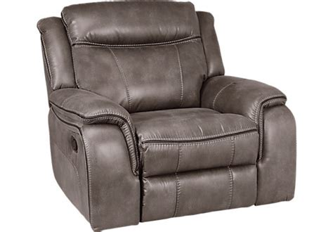 Furniture Springs Recliners by Home Barton Springs Gray Glider Recliner