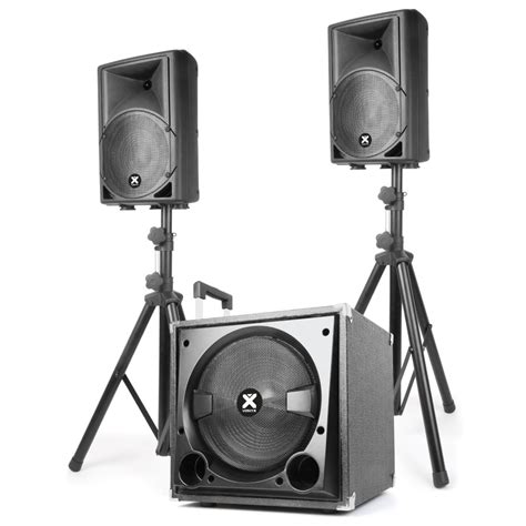 Speaker Aktiv 2 1 Bluetooth E80 vonyx vx800bt active 2 1 pa dj speaker system with