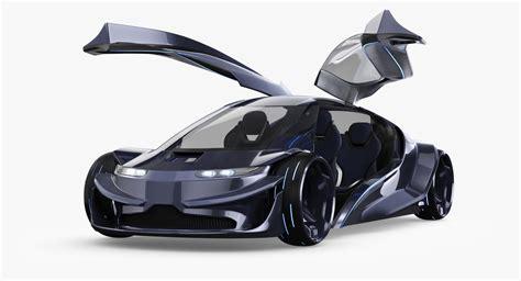 future models future car 3d model turbosquid 1160837