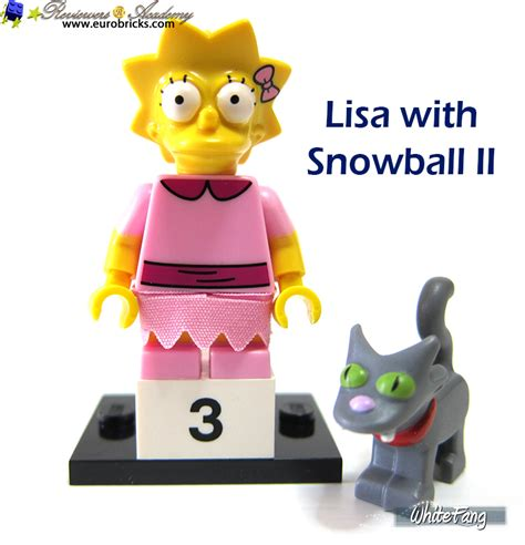 Lego 71009 3 With Snowball Ii Minifigures Simpsons Series 2 review 71009 lego minifigures the lego simpsons series