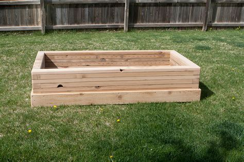 Outdoor Raised Planters by Reclaimed Raised Garden Bed Planter 1 Custom By Rushton Llc