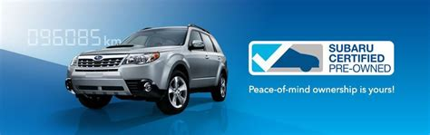 certified pre owned vehicles subaru canada