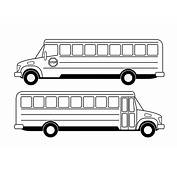 School Bus Side View Drawing PNG Clipart  Download Free