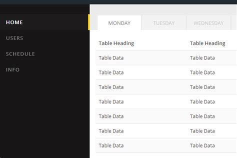 html css dashboard layout 30 open source html css projects from codepen