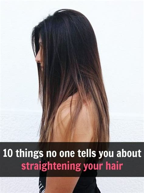 10 things no one ever tells you about haircuts 10 things no one ever tells you about straightening your