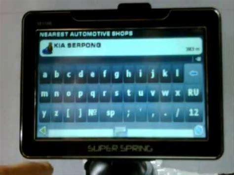 Tv Mobil Gps gps mobil superspring tv gps mobil peta navigasi