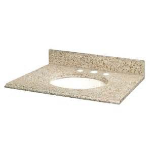 pegasus 49 inches x22 inches beige granite vanity top