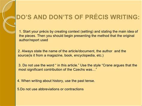 Essay And Precis Writing by Write My Precis For Me