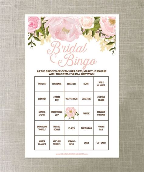 Bridal Shower For All Ages by Bridal Bingo Bingo And On