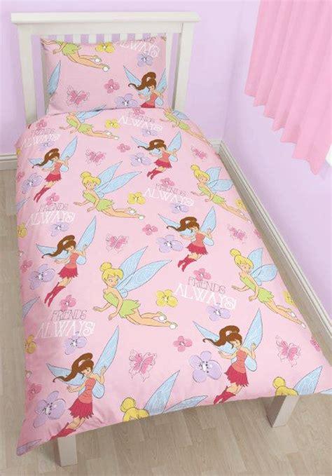 Disney Fairies Bedding Set Disney Fairies Tinkerbell Sweet Single Duvet Quilt Cover Reversible Bedding Set Ebay